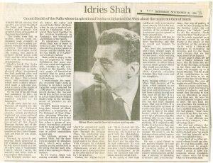 Tres cuentos sufís de Idries Shah