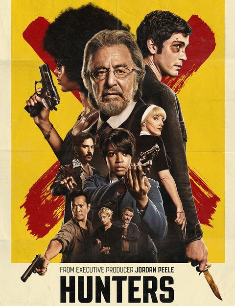 Cartel de la serie Hunters, con Al Pacino